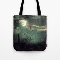 The Owl That Stole The M… Tote Bag