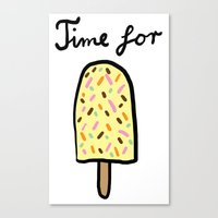 Popsicle Canvas Print