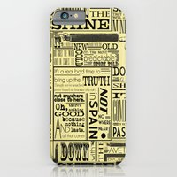 iPhone & iPod Case featuring Down with the Shine by Madison R. Leavelle