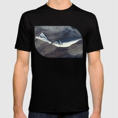 At the Bottom of the See Mens Fitted Tee Black SMALL