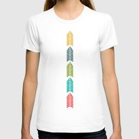 Arboretum Womens Fitted Tee White SMALL