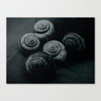 Little snails Canvas Print