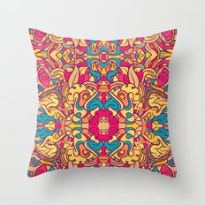 Eye Of The Beast Pattern Throw Pillow