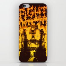 Fight with fire iPhone & iPod Skin