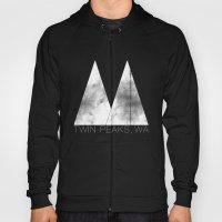 Twin Peaks, WA (White Lo… Hoody