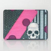 Pink Skull. Letter Z iPad Case