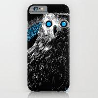 Midnight Owl - Teal iPhone 6 Slim Case