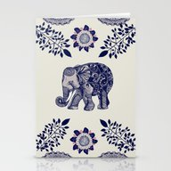 Stationery Cards featuring Elephant Pink by Rskinner1122