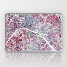 Paris Map Laptop & iPad Skin