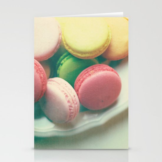 Macarons  Stationery Card