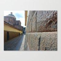 Cuzco Alley 2011 Canvas Print