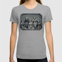 Mad Bitches Womens Fitted Tee Athletic Grey SMALL