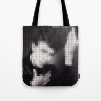 Bowie : Heroes Pixel Alb… Tote Bag