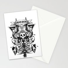 Create or Die Stationery Cards