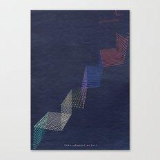 upstairs... Canvas Print