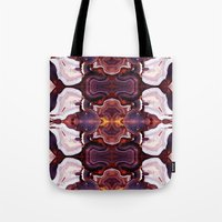 Agate Red in the Face. Tote Bag