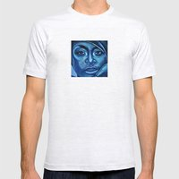 erykah?!../alternative-blue/ Mens Fitted Tee Ash Grey SMALL