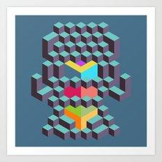 Geo 04 Art Print