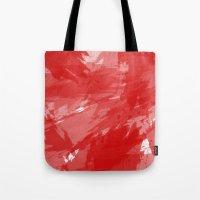 RED HOT CHILI PRINT Tote Bag