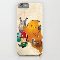iPhone & iPod Case featuring Magic Forest Gang! by Alex.Raveland...robot.design.digital.art
