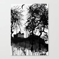 THE HANGED MANS HOUSE  2009 Canvas Print