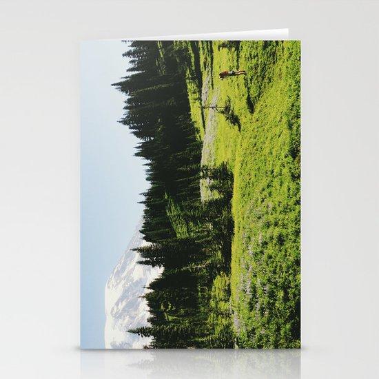 Mt Rainier Shooter Stationery Card