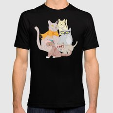 Accessory Cats Mens Fitted Tee Black SMALL