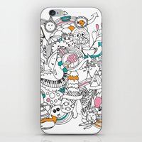 My Happy Doodle iPhone & iPod Skin