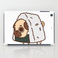 iPad Case featuring Puglie Onigiri by Puglie