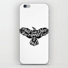Six of Crows - Falcon design iPhone & iPod Skin