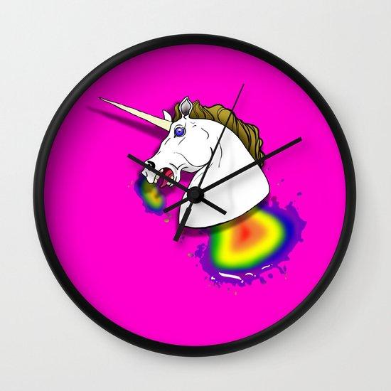 HOMOPHOBIA KILLS UNICORNS  Wall Clock