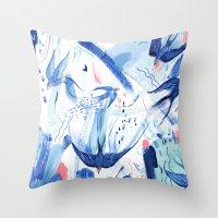 Pattern 28 Throw Pillow