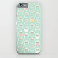 iPhone & iPod Case featuring Potted Plants Pastels by Leanne Oughton