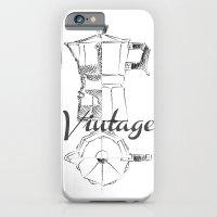 Coffee pot blueprint sketch  iPhone 6 Slim Case