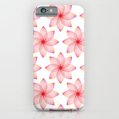 Gradient Strings Blossoms iPhone 6s Slim Case