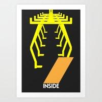 Drive - Inside Art Print
