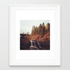 Gooseberry Falls Framed Art Print