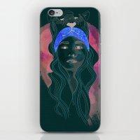 Neon Tiger iPhone & iPod Skin