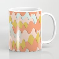 Colorful Waves Mug