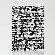 Black Pattern#2 Stationery Cards