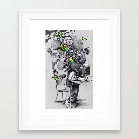The Creator Framed Art Print