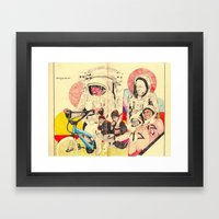 Spacemen Framed Art Print