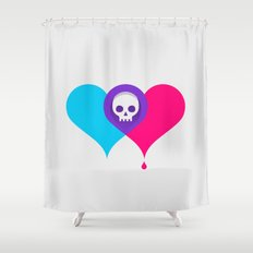 A Death-Marked Love Shower Curtain