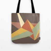 Abstract Crane Tote Bag