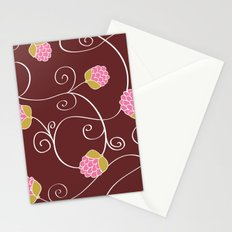 Raspberry Patch Red Stationery Cards