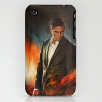 iPhone 3Gs & iPhone 3G Cases featuring He Who Fights Monsters by Alice X. Zhang