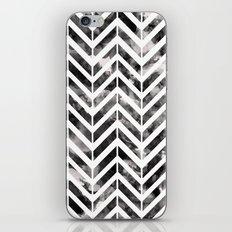 Brush Chevron iPhone & iPod Skin