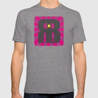 Radio Babylonia Mens Fitted Tee Tri-Grey SMALL