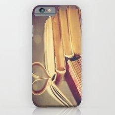 Vintage Book Love Slim Case iPhone 6s