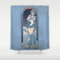 Voice of reason - Sailor Mercury nouveau Shower Curtain